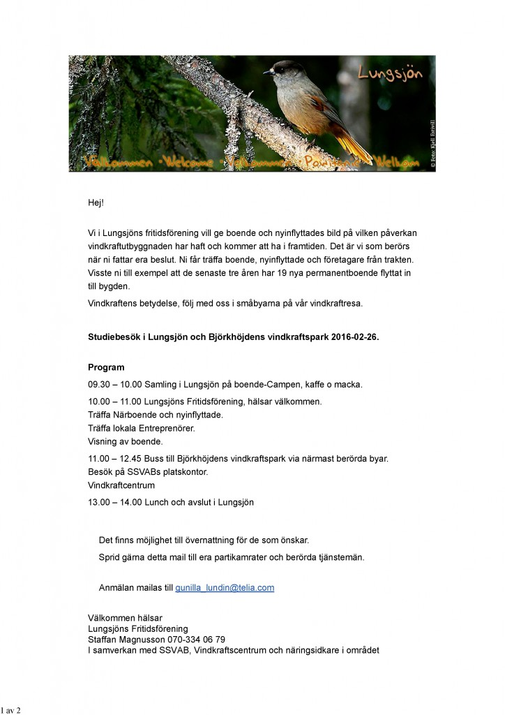 Inbjudan Lungsjön kopia